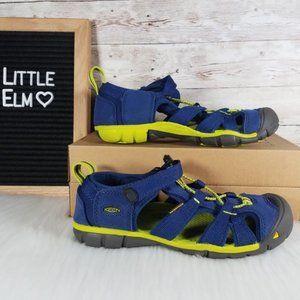 Keen Newport H2 Waterproof Sandal Boys 3 Blue Volt